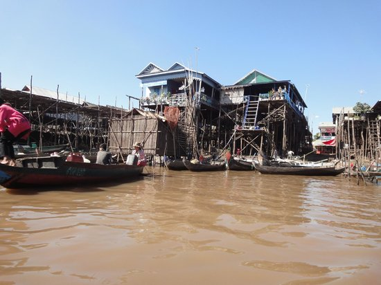 Angkor Holidays Tour: Floating village