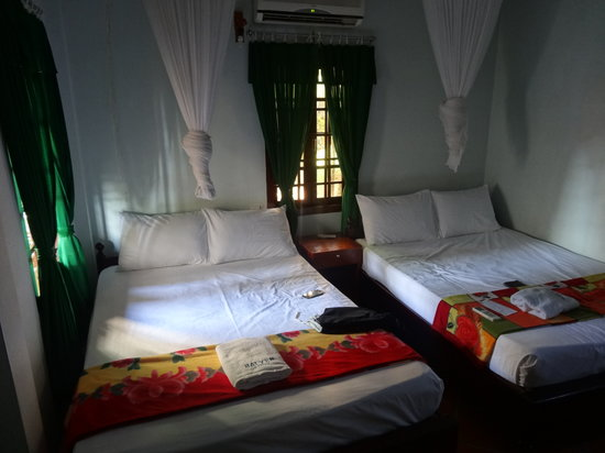 Hai Yen Family Resort : The two beds room of the cottage number one.