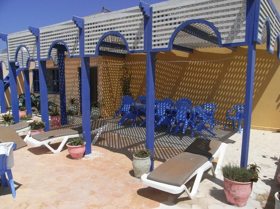 Hotel Souiri: Roof terrace