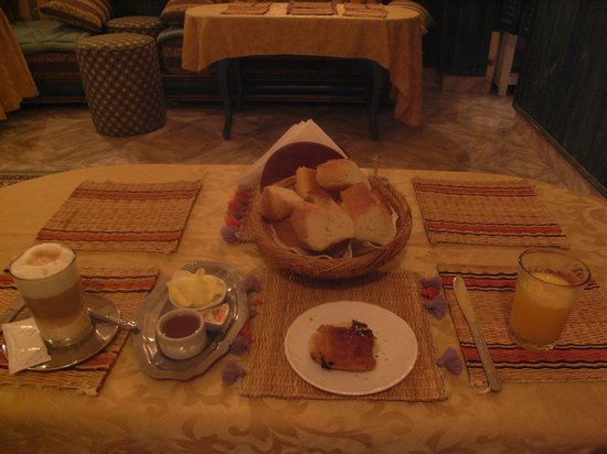 Hotel Souiri: Pleasant breakfast