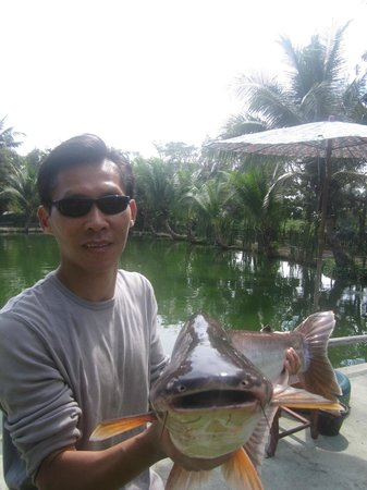 Hua Hin Fishing Lodge: whata catch