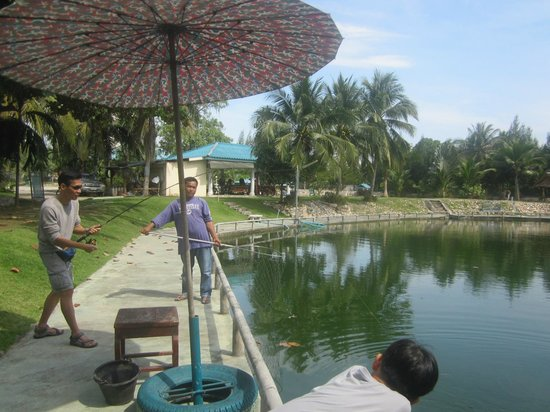 Hua Hin Fishing Lodge: reeling in the fish