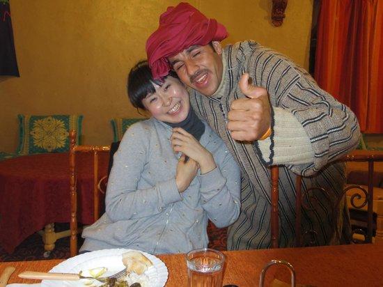 リアド マムーシュ メルズーガ, 歓迎ディナー