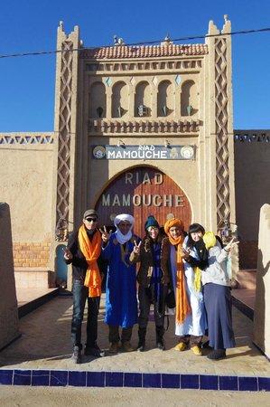 Riad Mamouche: ホテル玄関