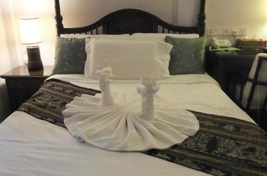 Anggun Boutique Hotel: Fancy towels