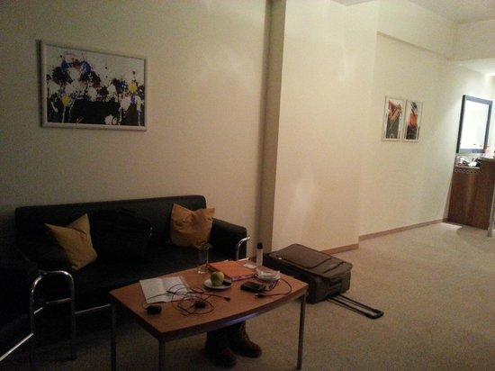 Starlight Suites Hotel: sitting area