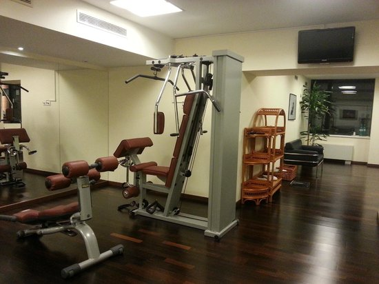 Starlight Suites Hotel: gym