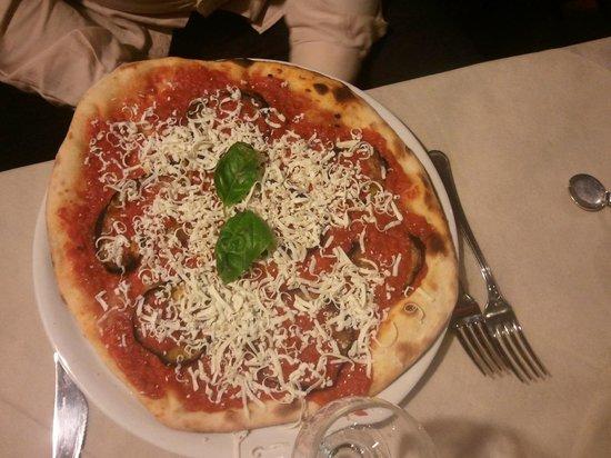 Villa del Cedro: pizza le due sicilie