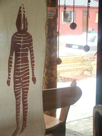 Hostal Amerindia Patagonia: cafeteria