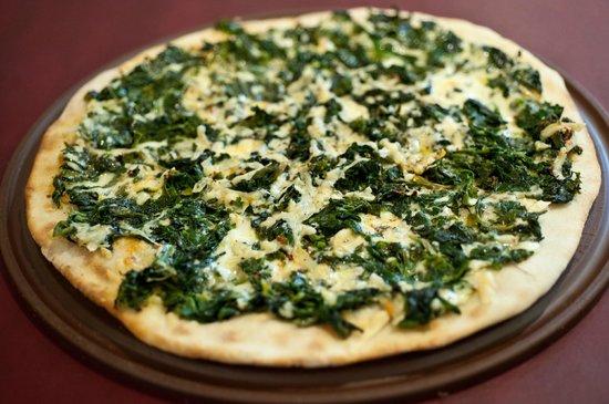 barDpizzas: Pizza de espinacas