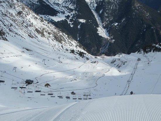 Polar Bar Restaurant: Arinsal slopes