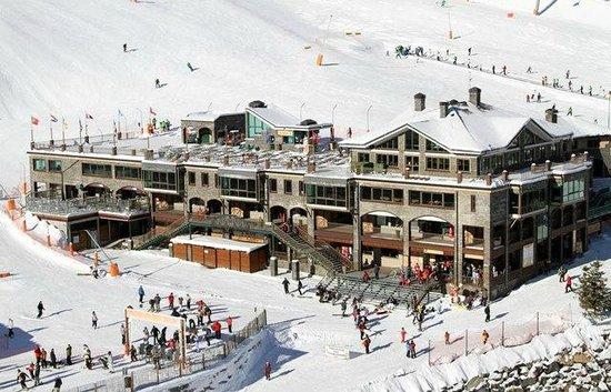 Polar Bar Restaurant: Aerial view - Polar Bar