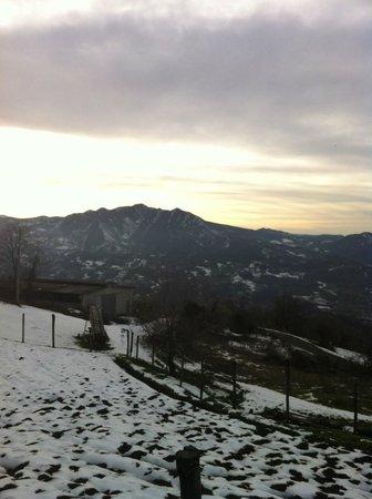 Bettola, Italy: vista della valle