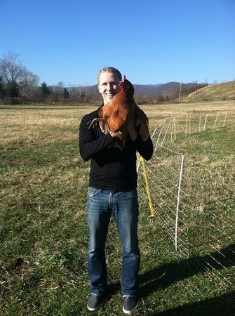 The Inn at Mount Vernon Farm: talk about fresh eggs!