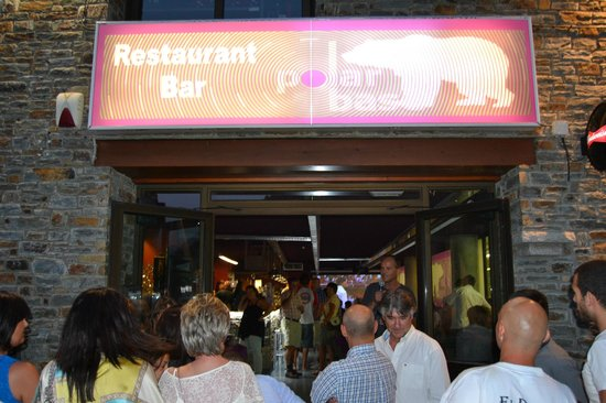 Polar Bar Restaurant: Polar base