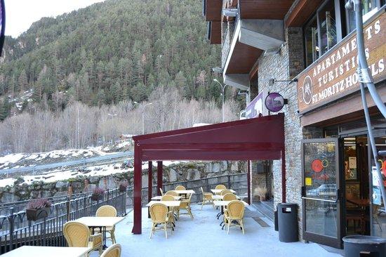 Polar Base Bar Restaurant: Polar Base new terrace