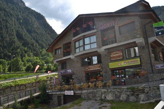 Polar Base Bar Restaurant: Sant Moritz Building - Polar base