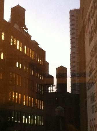 The NoMad Hotel New York: Channeling Georgia O'Keeffe out the window at Dusk