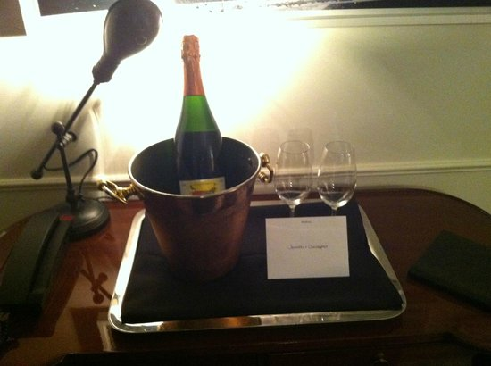 The NoMad Hotel New York: Wine from the Concierge (it was our Anniversary)