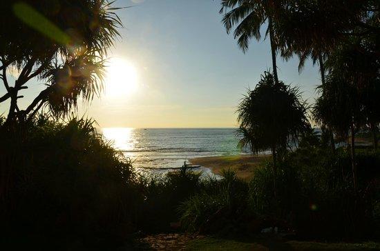 Jetwing Lighthouse: Le coucher de soleil