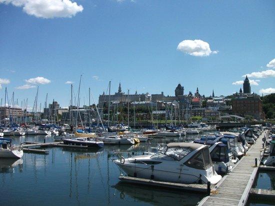 Bassin louise quai st andr photo de vieux port qu bec for Porte quebec