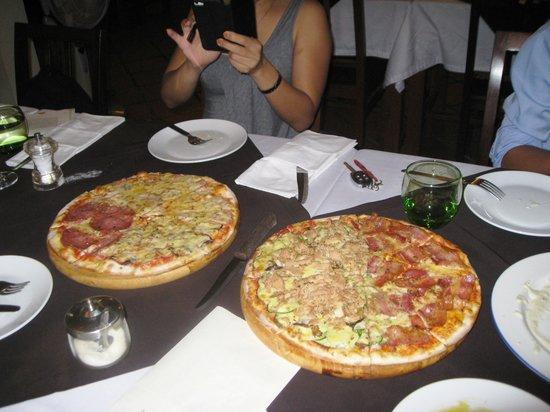 Aria D'Italia: Pizza Custom