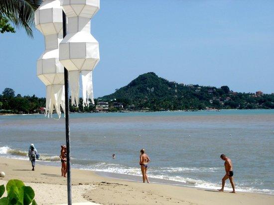 Pavilion Samui Villas & Resort: la plage de lamai