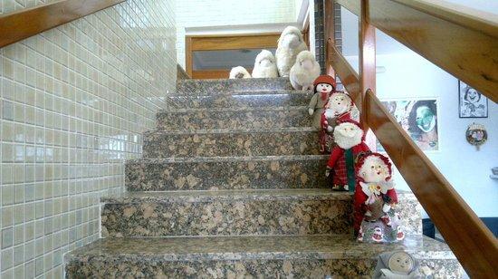 Pousada Vitoria : Escadaria da Pousada