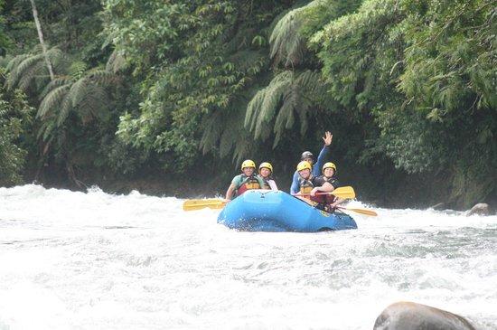 Sarapiqui River: aqui vamos