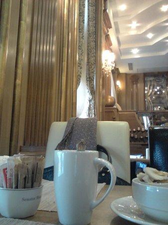 BEST WESTERN PREMIER Senator Hotel: Restaurant