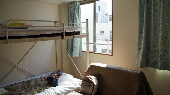 Business Hotel Mikado: chambre triple pour 2