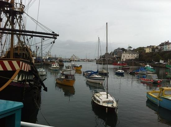 Nick's Fish Bar: the Golden Hind and Harbour