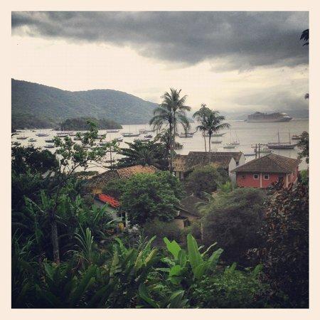 Pousada Tagomago Beach Lodge: Vue de la chambre
