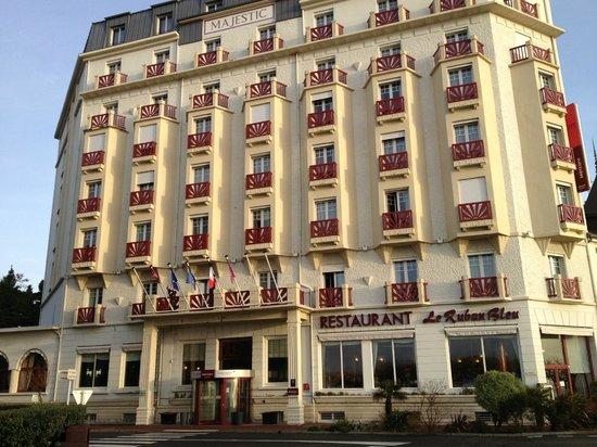 Mercure La Baule Majestic : l'immeuble typique du début XX°