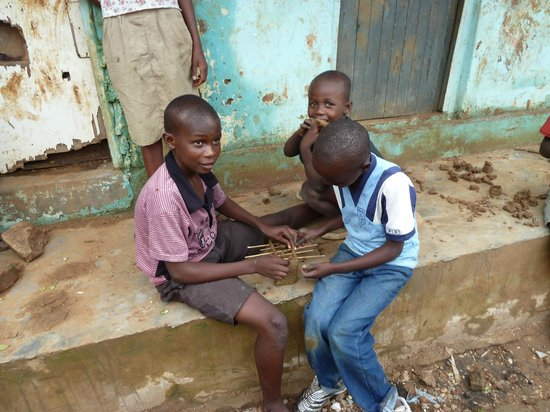 The Way of the Cross/ Njira ya Mtanda: Fussball table