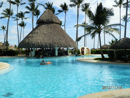 Secrets Royal Beach Punta Cana: Pool bar! Ask for Carlos!