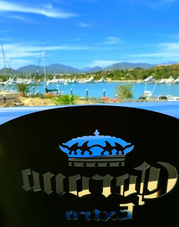 The Drunken Sailor: Marina Views from our Breezy Palapa Lounge