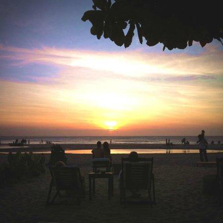 Casa na Praia: Vista da pousada