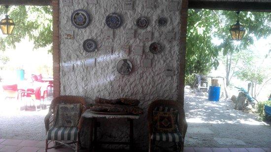 La Caseria de Piedra: Entrada