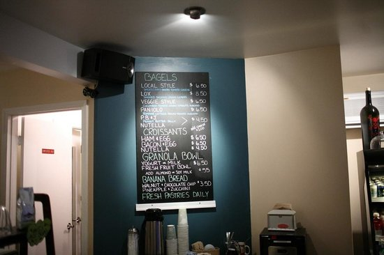 Cafe Cafe : Food menu