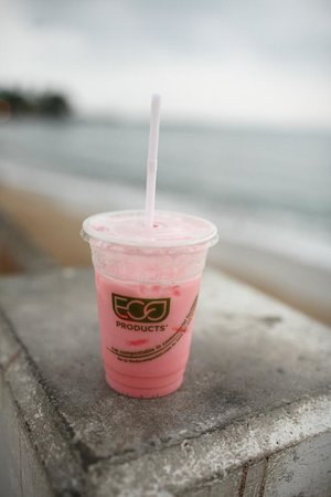 Cafe Cafe : Italian Soda (Strawberry)