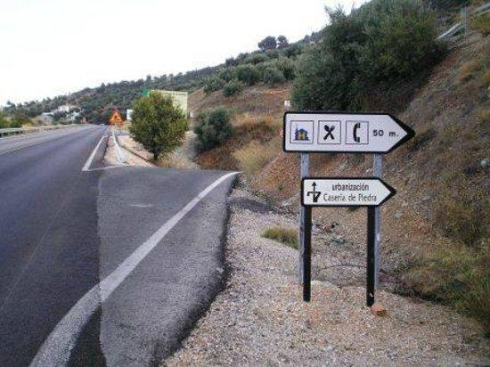 Entrada desde la a 6050 fotograf a de la caseria de piedra ja n tripadvisor - Caser asistencia en carretera ...