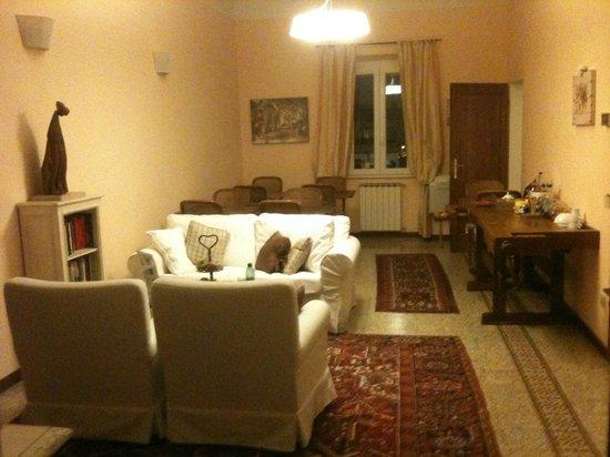 B&B Il Palagetto Guest House : Salotto comune