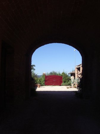 Agriturismo Marciano: Courtyard
