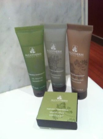 West-End Hotel: toiletries