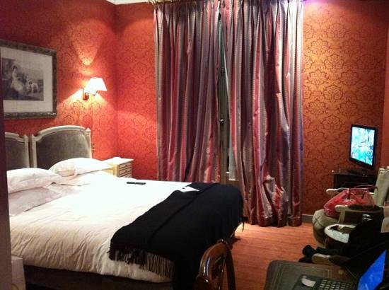 West-End Hotel: deluxe room