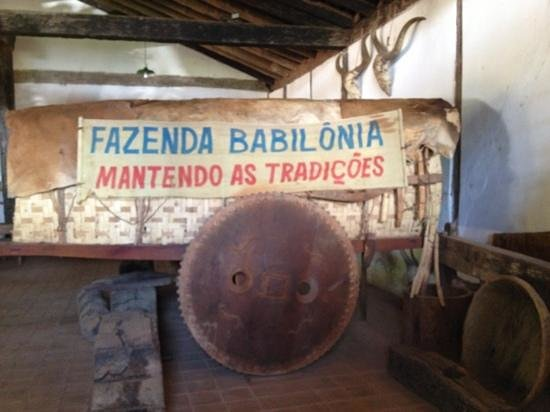 Fazenda Babilônia: Carro de Boi