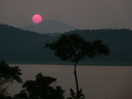 The Royal Lotus: Sunset view from terrace