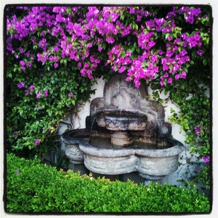 Ojai Valley Inn & Spa: Just a fountain near our room
