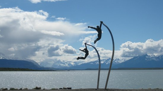 Noi Indigo Patagonia: La vue sur le Seno Ultima Esperanza est magnifique, surtout quand il fait beau...